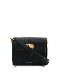 Alexander McQueen Twist Lock Fastening Shoulder Bag