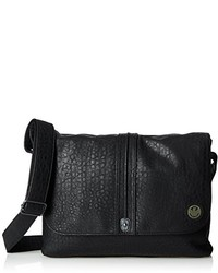 Armani Jeans Y7 Patterned Leather Messenger