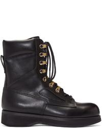 Sacai Black Hender Scheme Edition Lace Up Boots