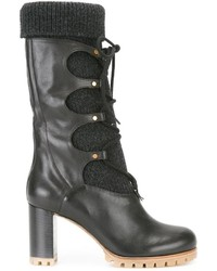 Chloé Foster Mid Calf Boots