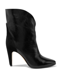 Givenchy Gv3 Med Textured Leather Ankle Boots
