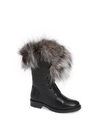 SHERIDAN MIA Jam Genuine Fox Fur Bootie