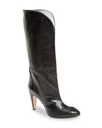 Givenchy Kangaroo Leather Genuine Python Boot