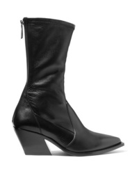 Givenchy Leather Sock Boots