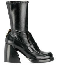 Chloé Penny Loafer Boots