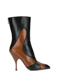 Bottega Veneta Pointed Toe Mid Calf Boots