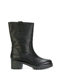 P.A.R.O.S.H. Ridged Mid Heel Boots