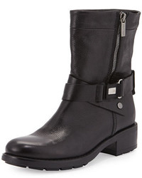 Aquatalia by Marvin K Sami Crisscross Buckled Mid Calf Boot