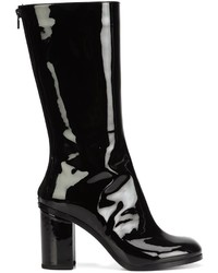 Vinyl mid calf boots medium 807702