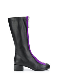 Marni Zip Front Mid Calf Boots