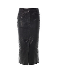 Haider Ackermann Kills Leather Pencil Skirt