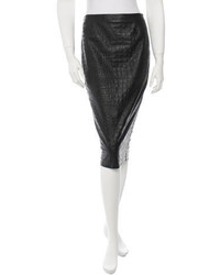 By Malene Birger Leather Skirt