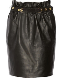 ADAM by Adam Lippes Adam Lippes Belted Leather Mini Skirt