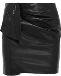 Isabel Marant Boden Leather Mini Skirt
