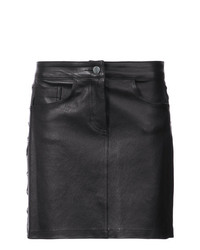 Amiri Chain Detail Mini Skirt