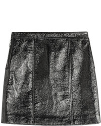 Marc by Marc Jacobs Faux Leather Mini Skirt
