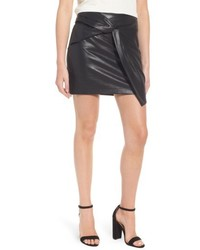 Faux leather miniskirt medium 5170463