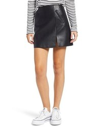 BLANKNYC Faux Leather Miniskirt