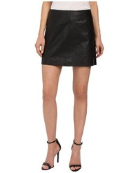 BB Dakota Ian Leather Mini Skirt