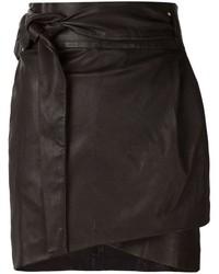 IRO Dallas Leather Skirt