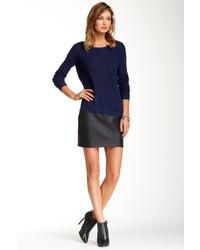 BB Dakota Jack By Fairley Faux Leather Skirt