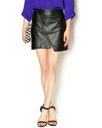 BB Dakota Jack By Faux Leather Skirt