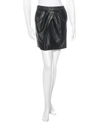 3.1 Phillip Lim Leather Mini Skirt
