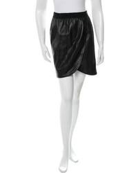 Marc Jacobs Leather Mini Skirt