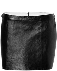 Kenzo Leather Mini Skirt