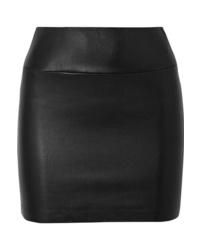 Sprwmn Leather Mini Skirt