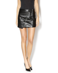 Lumiere Killer Faux Leather Skirt