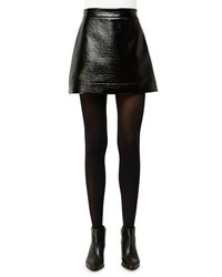 MICHAEL Michael Kors Michl Michl Kors Patent Faux Leather Mini Skirt