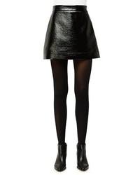 MICHAEL Michael Kors Michl Michl Kors Patent Faux Leather Mini Skirt