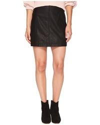 Free People Modern Femme Vegan Mini Skirt Skirt