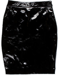 Gucci Patent Leather Mini Skirt
