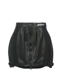 Unravel Project Perforated Mini Skirt