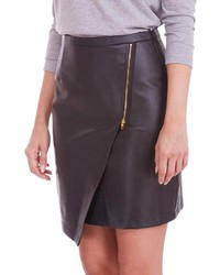 Poppy Lux Faux Leather Roxette Skirt