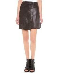 Rag and Bone Rag Bone Edburg Leather Skirt