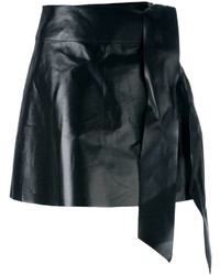 Tied mini skirt medium 3743297