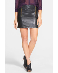 Vince Camuto Two By Faux Leather Miniskirt