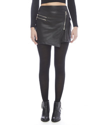 Dex Vegan Leather Mini Skirt