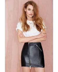 Nasty Gal Zip It Mini Skirt