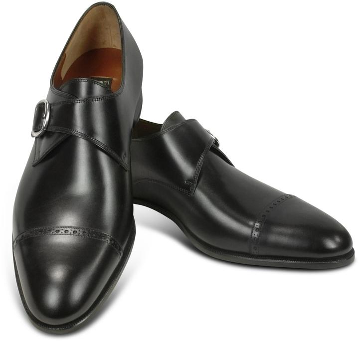 Fratelli Rossetti Black Calf Leather