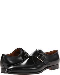 Gravati Calf Leather Buckle Monk Strap Monkstrap Shoes