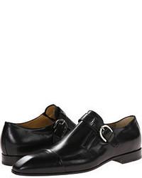 Cesare Paciotti Classic Monk Strap Oxford Lace Up Casual Shoes