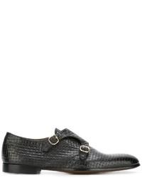 Doucal's Woven Monk Shoes