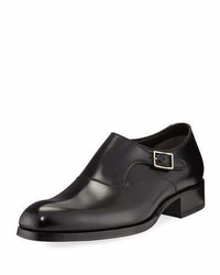 Tom Ford Edgar Calf Leather Monk Shoe