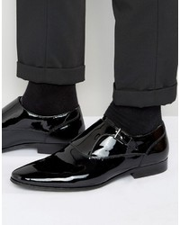 Aldo Kedoalia Patent Leather Single Monk Shoes