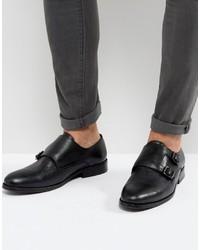 AllSaints Leather Monkstrap Shoe