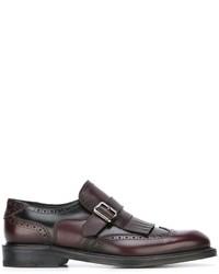 Salvatore Ferragamo Classic Monk Shoes